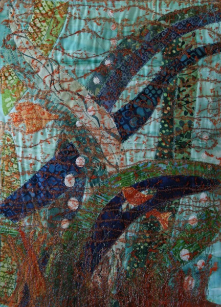 Liz Butcher's underwater textile scene
